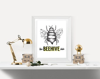 The Beehive State Print