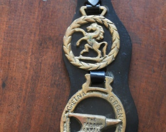 Royalty Horse Harness Brasses From England