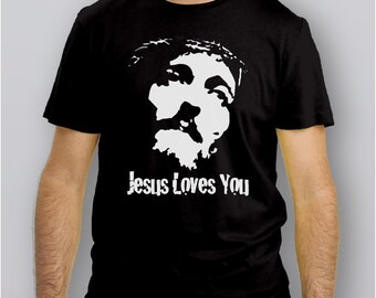 002J - T-Shirt JESUS LOVES YOU