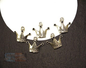 Charm crowns, Charms crown, pendant, Jewellery, jewellery making, creation, craft material, jewellery material, accessory, making