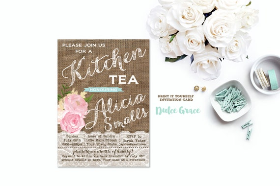 kitchen tea invites ideas kitchen tea invitation bridal kitchen tea invite bridal high 20089