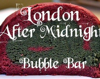 Bath Bubble Steampunk Lush Gift Valentine Classics of Horror Cinema DOUBLE BATCH London After Midnight Bubble Bar (Dragon's Blood Scent)