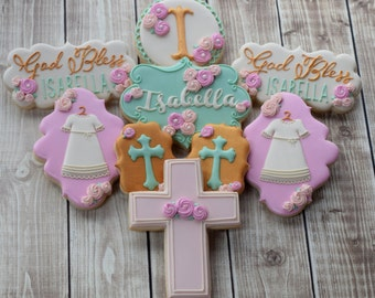 Baby Baptism  Christening Child Communion Confirmation Cookies