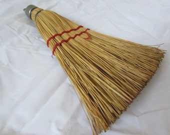 Vintage Hand Whisk Broom - 9 1/2""