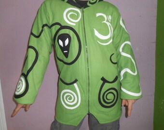 Hood jacket XS-XXXL