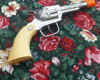 1950's Plastic Cap Gun, Pistol, Revolver