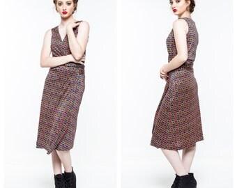 Vintage DVF Wrap Dress / Diane Von Furstenburg