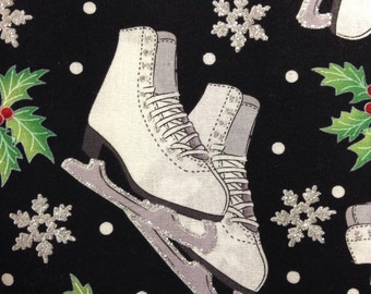 One Half Yard of Fabric - Ice Skates