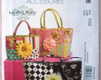 McCall's Fashion Accessories - Kay Whitt Design – New – Uncut