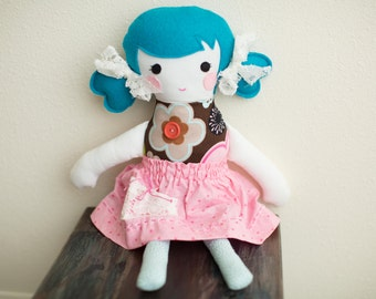 "Handmade Doll - Babies Toddler - ""Arie"""