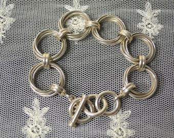 Style Art Deco Bracelet Sterling