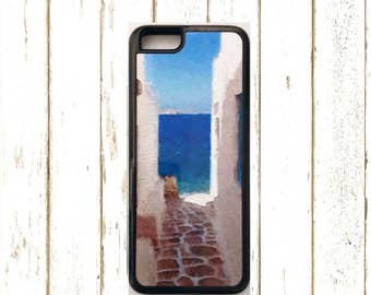 IPhone 6 plus Case, Iphone 7 plusCase, Greek Island IPhone Case,  Island IPhone Case for 5/5S, Island Phone Case for IPhone 6/6S.