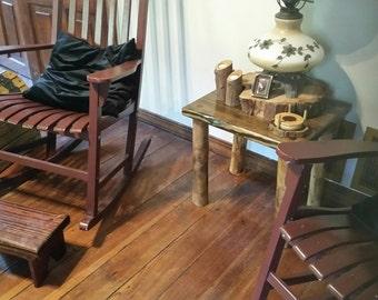 Cedar Leg End Tables