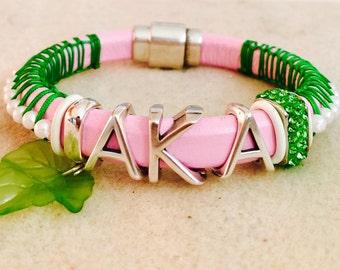 AKA bracelet, with pearls of wisdom