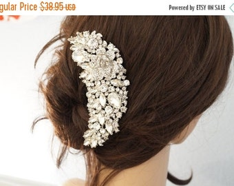Summer Sale 15% Off Bridal Hair Comb, Crystal Hair Comb, Wedding Hair Accessories, Vintage Inspired Bridal Hair Comb, Bridal Hair Accessorie