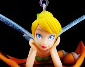 Tinkerbell on Leaf - Ceiling Fan Pull Chain