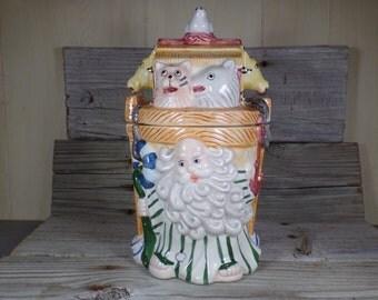 Noahs Ark Cookie Jar Noahs Ark Baby Shower Noahs Ark Nursery Religious Verse Religious Art Childrens Bible Stories Nursery Decor Kitchen