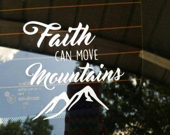 Faith decal// car decal