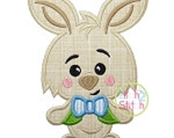 Personalized Easter Bunny Boy or Girl Applique Shirt or Onesie