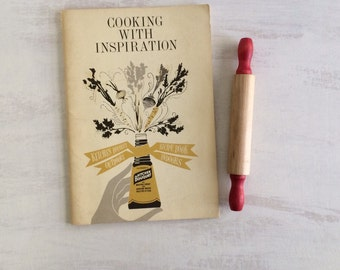 Vintage Cooking With Inspiration Recipe Booklet From 1962