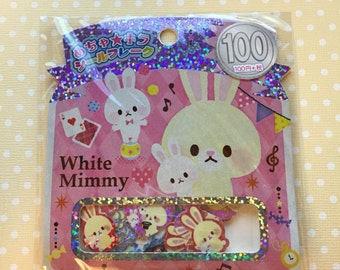 Kamio Japan White Mimmy Sticker Sack