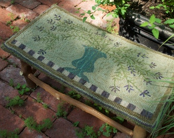 The Lavender Footstool