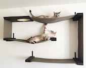 Fabric Cat Maze - Cat Hammock Shelves