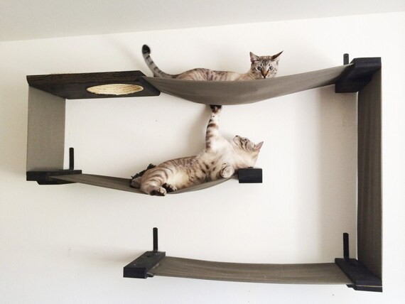 like this item  fabric cat maze cat hammock shelves free us shipping  rh   etsy