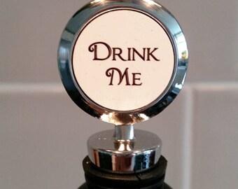Drink Me - Wine Bottle Stopper