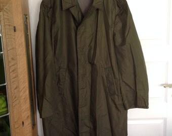 Vintage raincoat for man