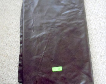 """2 yards & 7  inches, 54"""" wide, Dark brown upholstry fabric.  pliable vinyl with alligator skin finish, vinyl fabric,  Cotton lined fabric"""