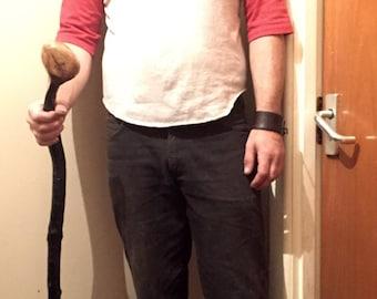 Blackthorn shillelagh walking stick