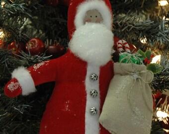 Folk Art Santa-Large(V-54-SANTA-S/W/SS)