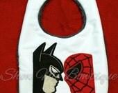 Bat V Spider Applique design Instant Download