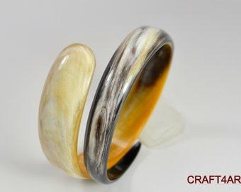 Buffalo Horn Bracelet Handmade