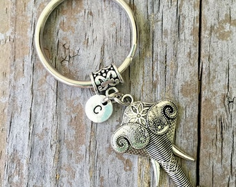 Elephant Keychain/ Elephant Key Chain/ Elephant Keyring/Hippie Elephant/ Good Luck Elephant/Boho/ Indie/ Trunk Good Luck Keyring