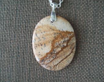 Picture Jasper Stone Pendant
