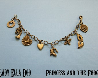 Princess and The Frog charm Bracelet
