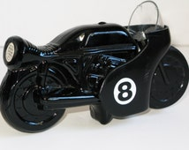 Avon Windjammer Motorcycle After Shave Bottle -  WowFactorCollectible