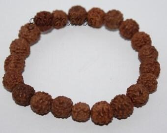 Elastic bracelet Rudra bracelet Rudraksha bracelet meditation bracelet Rudraksha beads yoga bracelet boho bracelet gypsy bracelet 15