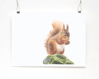 Simply Red Limited Edition Print