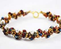 Melody Bracelet Bead Pattern And Tutorial