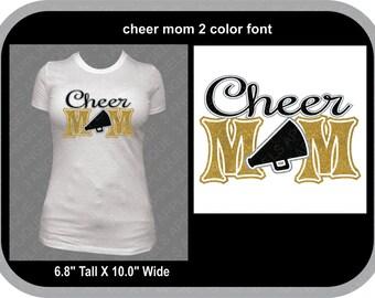 Cheer Mom SVG Cutter Design INSTANT DOWNLOAD