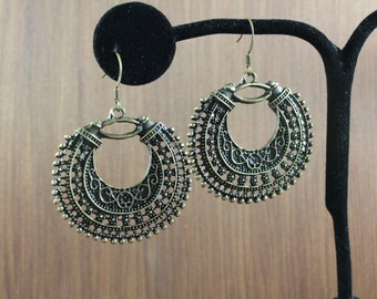 Bohemian Chic ~ Antiqued Bronze earrings