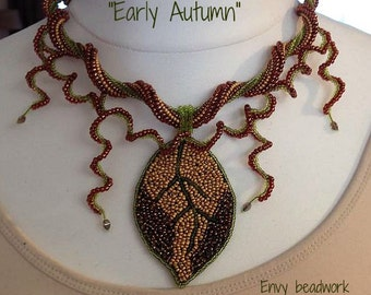"""Necklace """"Early Autumn"""""""