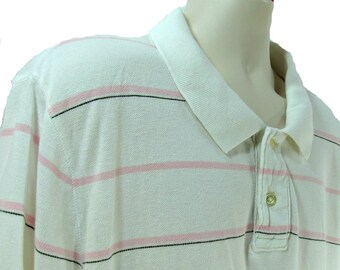 men's knit shirt, collared knit shirt, short sleeve shirt,polo shirt, size XX L  (XX large),   # 69