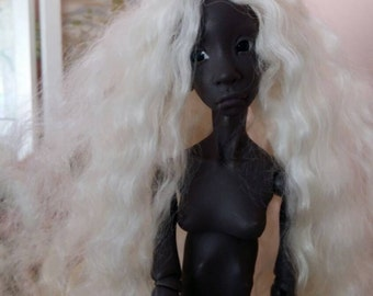 White Storm Mohair Wig for BJTales Nifer BJD