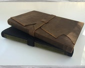Large Leather Longstitch Journal/Sketchbook (Arches Text Wove Paper)