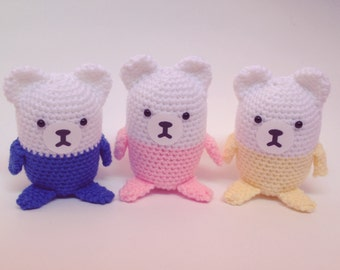 CapsuleCub Handmade Crocheted Plushie