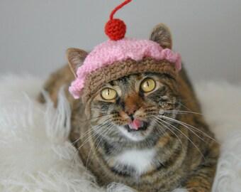 Cat Hat Dessert Pet Hat Made to Order